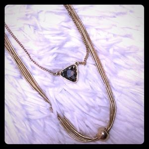 Cute gold necklace set! 2 necklaces for one great